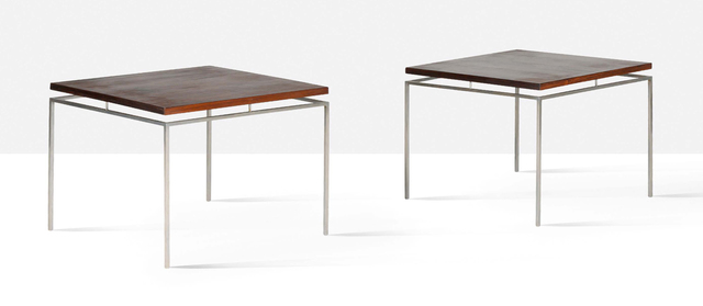 Knud Joos-Jensen, 'Pair of occasional tables', circa 1958, Aguttes