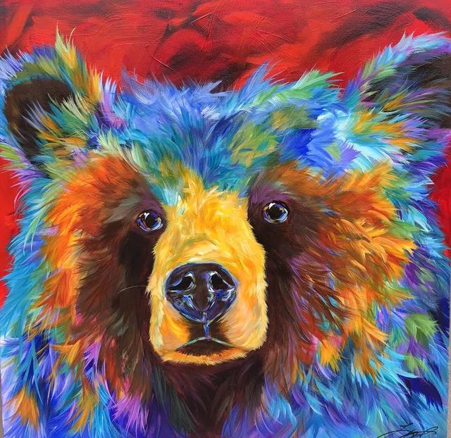 , 'Regal Bear,' 2018, SmithKlein Gallery