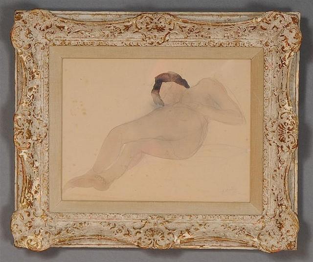 , 'Reclining Nude,' 1896-1899, Nikola Rukaj Gallery