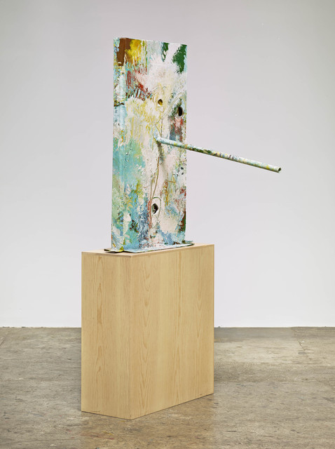 , 'Untitled (Study of a Figure Outdoors: Woman with a Parasol, Facing Left,  French Mask M31.a),' 2013, Nasher Sculpture Center