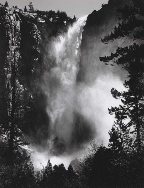 Ansel Adams, 'Bridalveil Fall, Yosemite, 1927', 1927, Seagrave Gallery