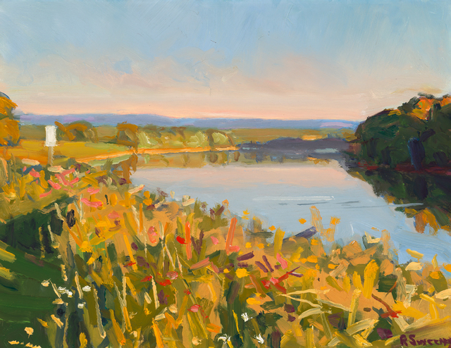 , 'Hadley Levee,' 2018, William Baczek Fine Arts