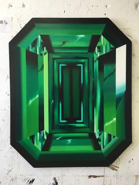 "Kurt Pio, '""Green Emerald""', 2019, Parlor Gallery"
