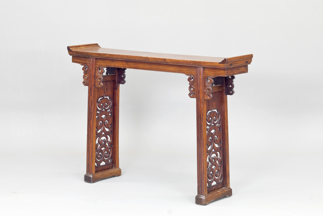 Unknown, 'A Huanghuali altar table with flanges', Ming Dynasty-17th century, Other, Huanghuali wood, Andy Hei Ltd.