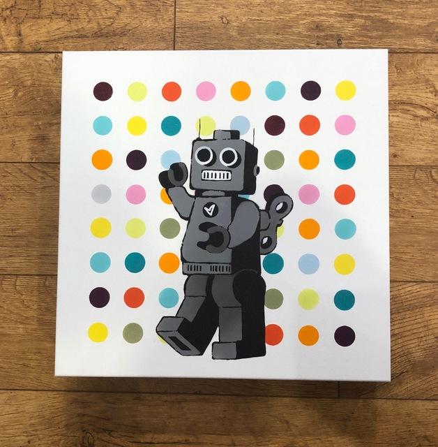 , 'Robot Spot Painter,' 2018, Landmark Street Art