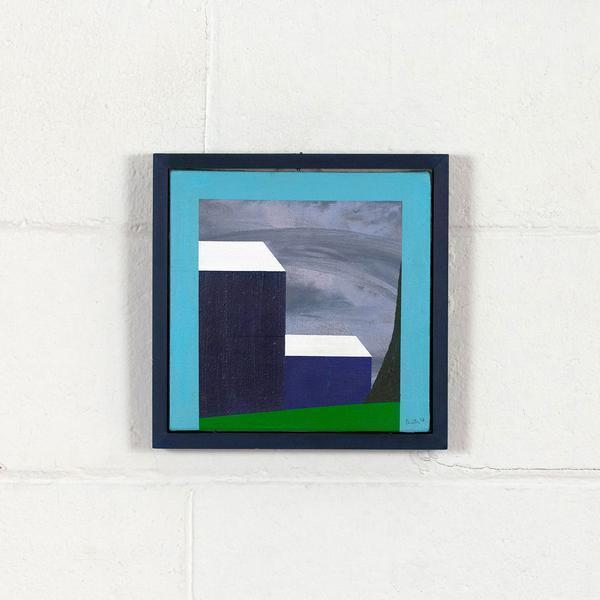 , 'Mini Blue Barn,' 1998, Caviar20