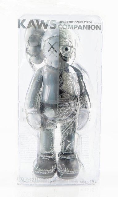 KAWS, 'Dissected Companion (Grey)', 2016, Sculpture, Painted cast vinyl, Heritage Auctions