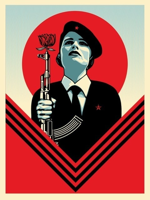 Shepard Fairey (OBEY), 'Peace Guard 2', 2017, Art for ACLU Benefit Auction