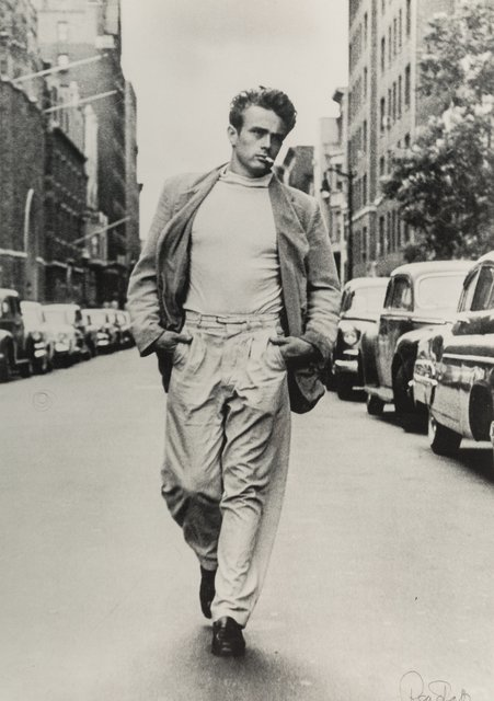 Roy Schatt, 'James Dean', 1954, Photography, Gelatin silver, printed later, Heritage Auctions