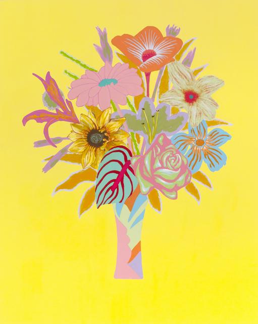 , 'Unrepentant Flowers: Lemon,' 2017, Diane Rosenstein