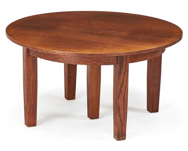 Attributed to the Stickley Brothers | Dining room table, Grand ...