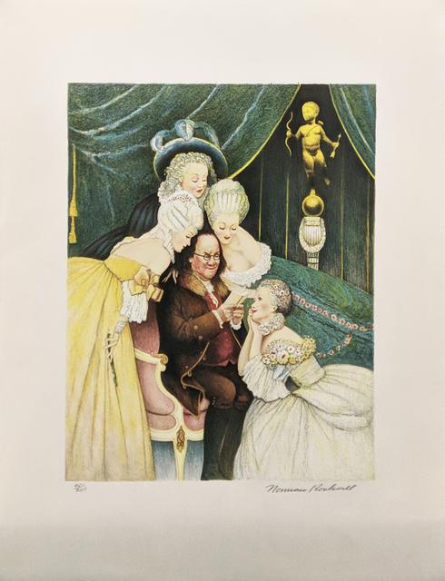 Norman Rockwell, 'BEN'S BELLES', 1973, Gallery Art