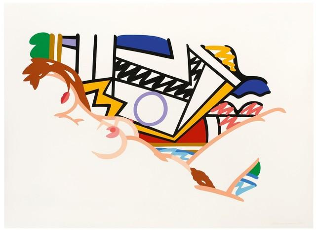 , 'Monica Nude with Lichtenstein,' 2002, New River Fine Art