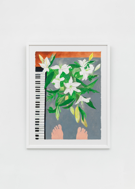 , 'Lilies from Above,' 2019, Richard Taittinger Gallery