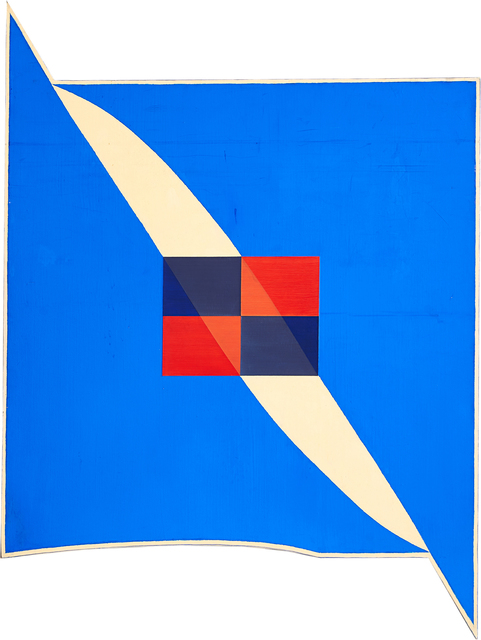 Harvey Quaytman, 'Union Square #6', 1982, Painting, Oil on shaped canvas, Rago/Wright