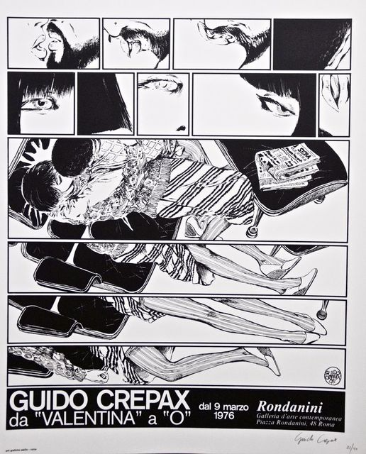 """Guido Crepax, 'Guido Crepax - From """"Valentina"""" to """"O""""', 1976, Wallector"""