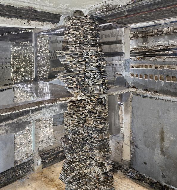 , 'Destroyed House Gaza 9,' 2017, Bruce Silverstein Gallery