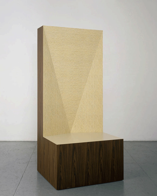 Richard Artschwager, 'Seat of Judgment', 2008, Gagosian