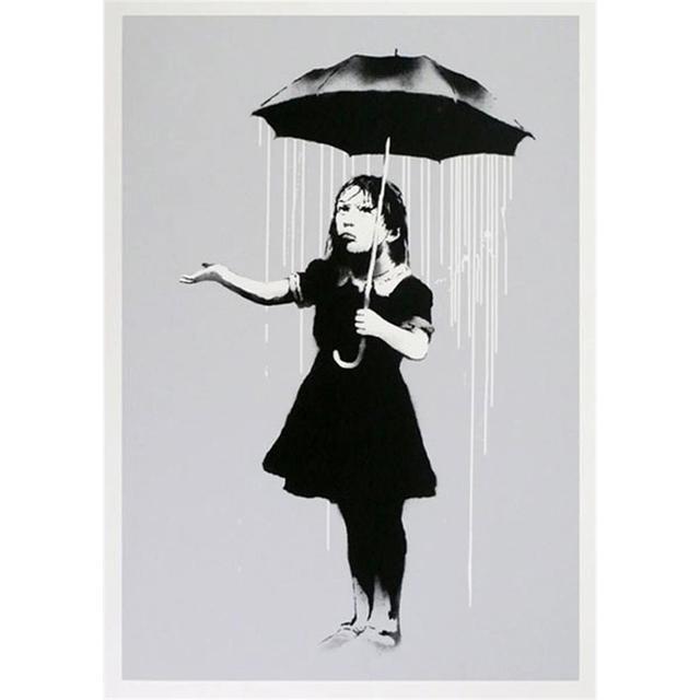 Banksy, 'Nola White Rain', 2008, Lougher Contemporary