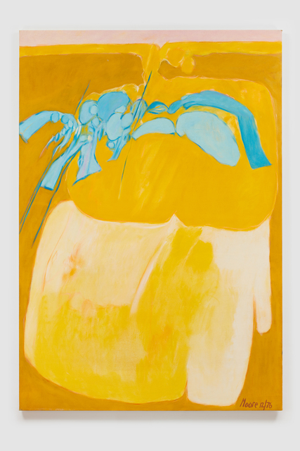 , 'Untitled I (Yellow),' 1976, Susan Eley Fine Art