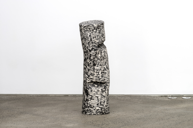, 'Black Lines, object,' 2016, Chamber