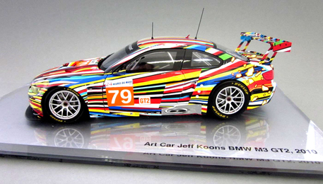 BMW Art Car 1:18 scale model