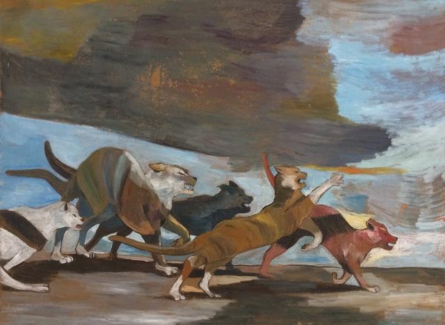 Paton Miller, 'Furious Cats', unknown, Sara Nightingale Gallery