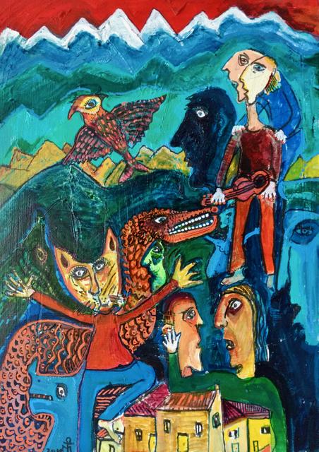 , 'The Argument,' 2019, Yebo Art Gallery