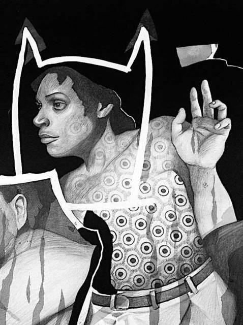, 'Chingollywood Drawing 1,' 2018, Pierogi