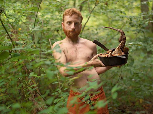 , ' Acorn with Possum Stew, Wildroots Homestead, North Carolina,' 2006, Light Work