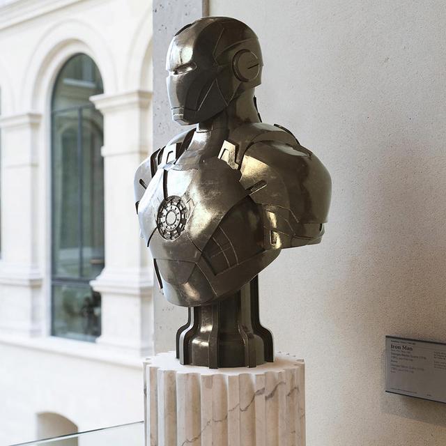 Léo Caillard, 'Heroes in Stone (Iron Man Bronze)', 2018, Zemack Contemporary Art