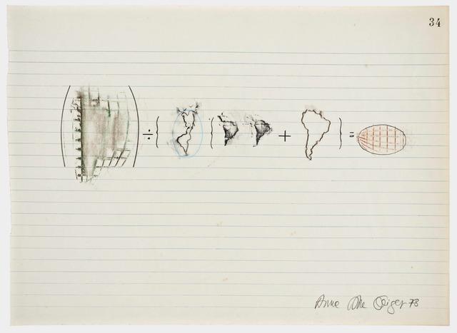 , 'Equations No 34,' 1978, Henrique Faria Fine Art