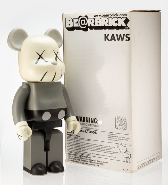 KAWS, 'Companion 1000% (Grey)', 2002, Heritage Auctions