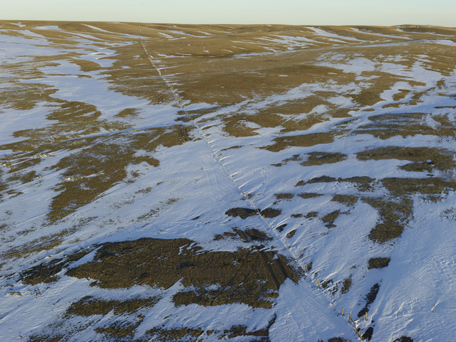 , 'Fence Line Drift, Dawes County, Nebraska,' 2013, Yancey Richardson Gallery