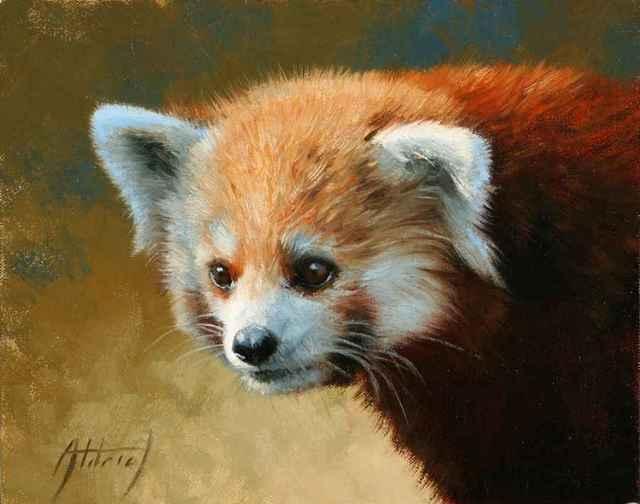 , 'Red Panda Portrait,' , Sorrel Sky Gallery