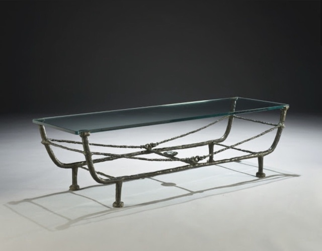 , 'Berceaucoffer table,' ca. 1968, Jean-David Botella