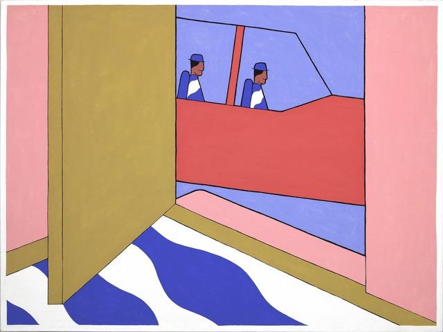 John Wesley, 'Navajos Surrounding the House in a Beechcraft', 1979, Fredericks & Freiser