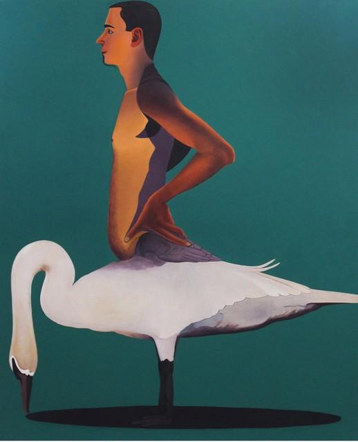 Surendran Nair, 'Untitled (The Bad Behavior Of Singularities. Cuckoonebulopolis)', 2004-2018, Painting, Oil on canvas, Aicon Gallery