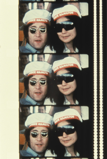, 'John & Yoko on a cruise boat up the Hudson river July 7, 1971,' 2013, Deborah Colton Gallery