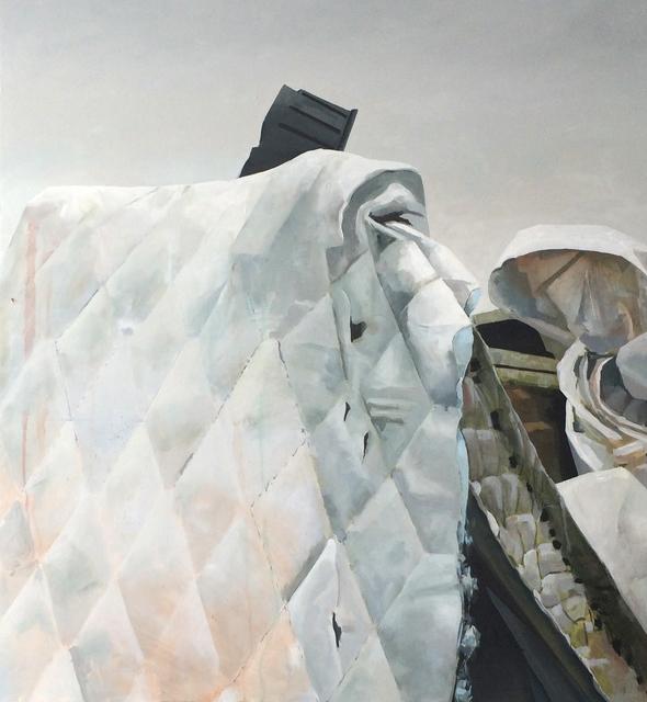 Jenny Brillhart, 'Bent', 2015, Painting, Oil on Maple Panel, Kuckei + Kuckei