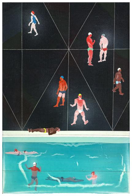 , 'Dark Swimming Pool,' 2016, Aki Gallery