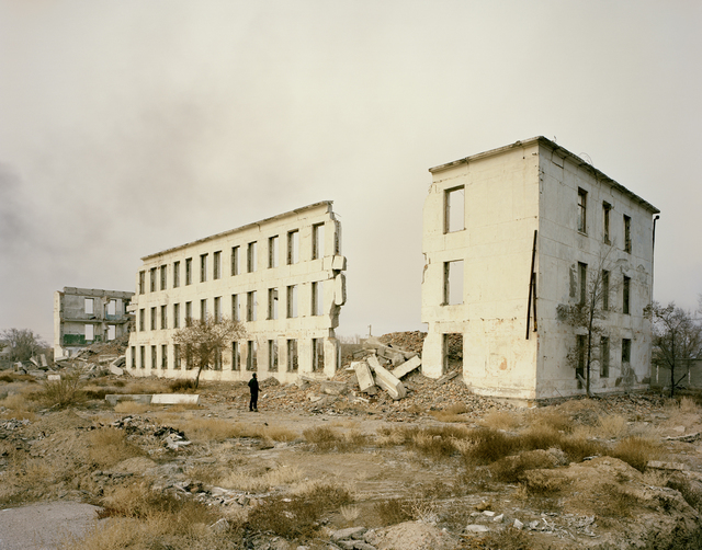 , 'Priozersk I, (Military Housing), Kazakhstan,' 2011, Flowers