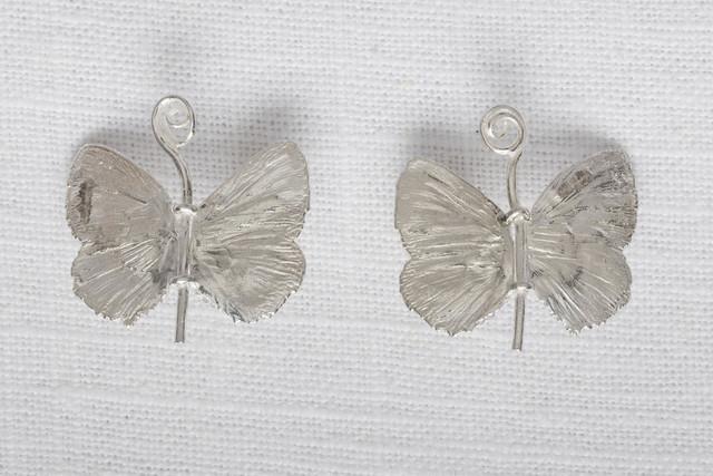 , 'Butterfly earrings,' 2016, Paul Kasmin Gallery