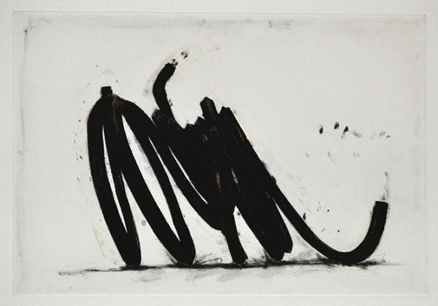 , 'Two indeterminate lines,' 2014, Galerie Van der Planken