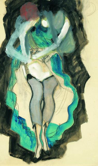 , 'Cancan Dancer,' ca. 1920, Galerie Kovacek