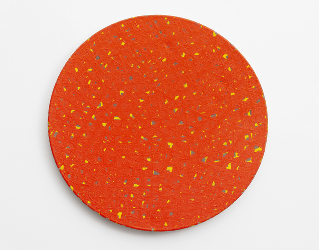 Noel Forster, 'Untitled  [Orange over Yellow and Green]', 2000, Painting, Oil on linen, Flowers