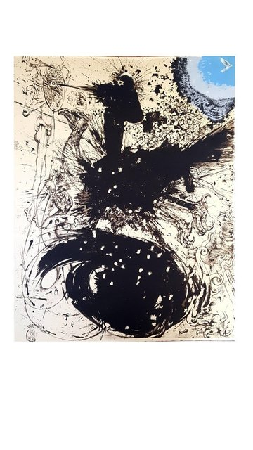 "Salvador Dalí, 'Original Lithograph ""Don Quixote"" by Salvador Dali', 1957, Galerie Philia"
