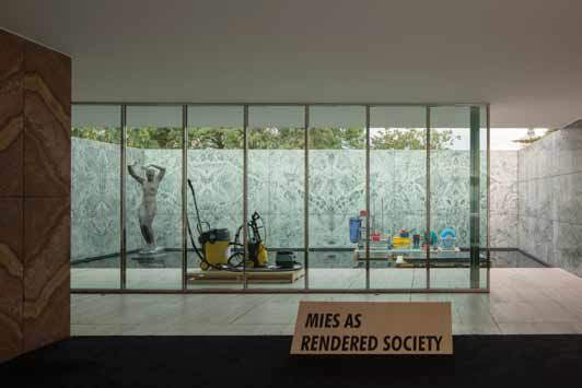 , 'Phantom. Mies As Rendered Society. Cleaning.,' 2012, Pepe Cobo