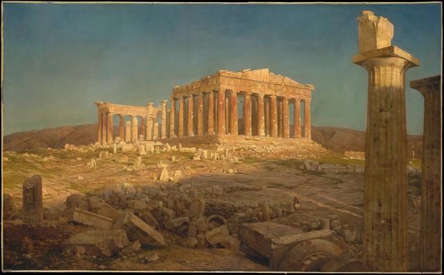 Frederic Edwin Church, 'The Parthenon', 1871, The Metropolitan Museum of Art