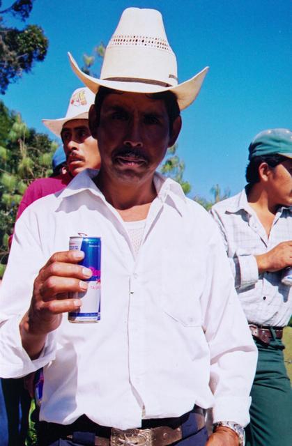 , 'Red bull,' , Machete